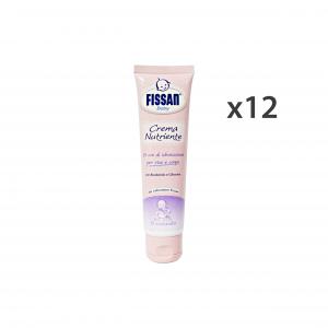 FISSAN Set  12 Baby Crema Nutriente Viso-Corpo 100 Ml. Linea Bimbo