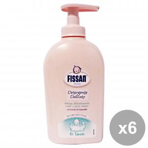 FISSAN Set  6 Baby Detergente Delicato 300 Ml. Linea Bimbo