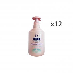 FISSAN Set  12 Baby Bagno Primi Mesi 500 Ml. Linea Bimbo