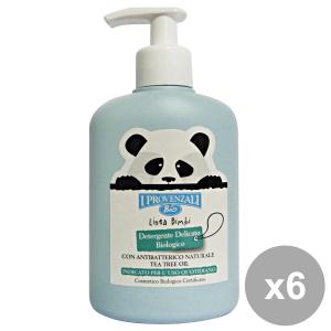 I PROVENZALI Set 6 Bimbi Detergente Delicato Biologico200 Ml. Linea Bimbo
