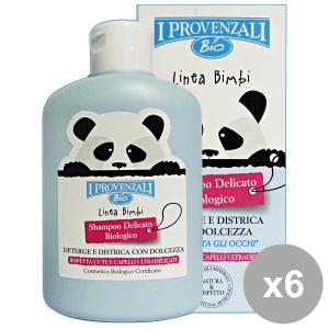 I PROVENZALI Set 6 Bimbi Shampoo Delicato Biologico250 Ml. Linea Bimbo