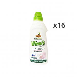 Set 16 WINNI'S Lana-Delicati 750 Ml.  Detergenti casa