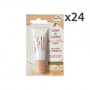 Set 24 CERA DI CUPRA Burrocacao Protettivo Nutriente Prodotti per labbra