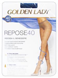 Repose Collant 40 Den Nero Taglia Iii 36G Calze Da Donna
