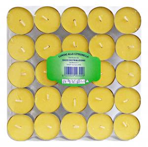 CITRONELLA Cand. scaldav.* 25 pz.  - Deodorante casa