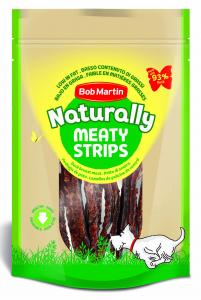 BOB MARTIN Ossi Naturally Meaty Strisce D'Anatra 70Gr D0461 Snack E Treat Per Cane