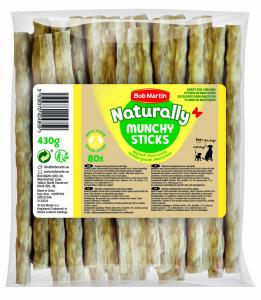 BOB MARTIN Ossi Naturally Bastoncini 80 Pezzi 5122034 Snack E Treat Per Cane