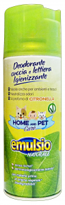 EMULSIO Pet care deodorante cuccia/lettiera citronella spray 400 ml