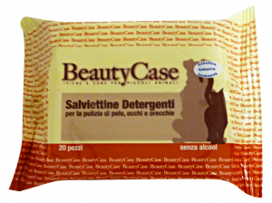 BEAUTY CASE Salv.deter.animali X 20 pz. - Prodotto per animali