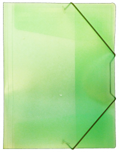 BIB Cartelle Portadocumenti Plastica 12 Pezzi Cancelleria E Cartoleria