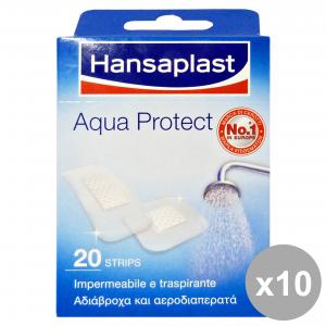 Set 10 HANSAPLAST AQUA PROTECT X 20 Pezzi 76533 Cerotti e cura del corpo