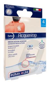 FARMALINE Cerotti Acqua Stop Alta Protezione 4 Pezzi Cer3873A