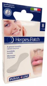 FARMALINE Labbra Cerotto Herpes Patch 8 Pezzi Cer3618A Prodotto Parafarmacia