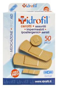 IdroFIL Cerotti Assortiti X 50 Pezzi Cerotti e cura del corpo