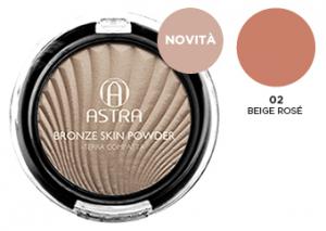 ASTRA Terra Compatta 02 Beige Rosè - Cosmetici