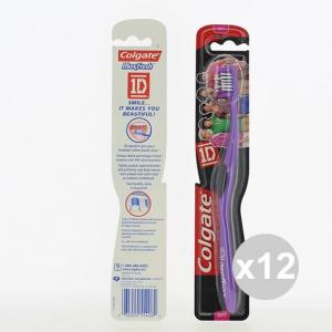 Set 12 COLGATE spazzolino Stages SoftDentifrici igiene e pulizia orale