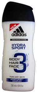 ADIDAS  Doccia Shampoo Hydra Sport 250 Ml. Doccia Schiuma