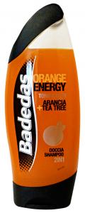 BADEDAS Doc/Shampoo orange energy 250 ml. - Doccia schiuma