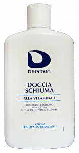DERMON Doccia VITAMINA E LENITIVO 400 Ml. Saponi e cosmetici