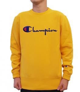 Felpa con logo Champion
