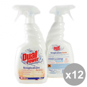 Set 12 DUAL Power Spray 750 Scioglicalcarecon Aceto