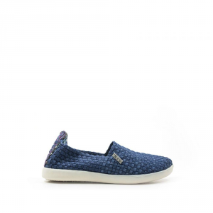 HEY DUDE Slip-On donna color jeans scarpe casual