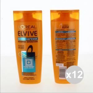 Set 12 ELVIVE Shampoo 250 Solare Shampoo E Balsamo Prodotti per capelli