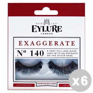 EYLURE Set 6 EYLURE Ciglia finte 140 exaggerate intense lashes