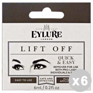 EYLURE Set 6 EYLURE Ciglia finte ciuffetti lift off rimuovi - trucco/make up