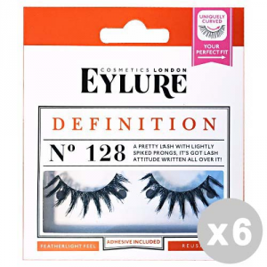 EYLURE Set 6 EYLURE Ciglia finte 128 definition - trucco/make up