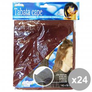 Set 24 CANTINI Mantella Con Velcro Parrucchiere Prodotti per capelli