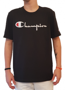 T-shirt girocollo con logo Champion