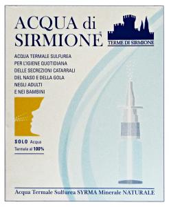 ACQUA DI SIRMIONE Acqua Termale Spray Naso X 6 Fiale Disinfettanti