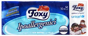 FOXY Fazzoletti * 10 pz. - fazzoletti di carta