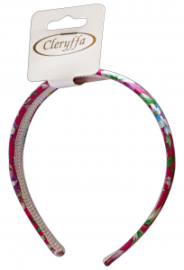 CLERYFFA Cerchietto F10275 Fiorato Accessorio Per Capelli