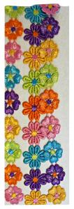 CLERYFFA Elastici F9577 Fascetta Fiori Multicolor Accessorio Per Capelli