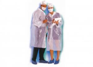 50 pezzi ICO Kit visitatori (cuffia-camice-copriscarpe-mascherina)  accessori lavoro