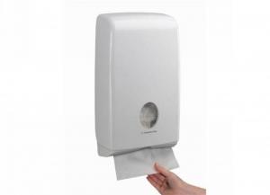 KIMBERLY-CLARK Distributore aquarius asciugamani slim intercalati 1 pezzo Bagno: accessori e tessuti