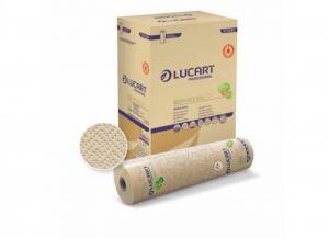 '6 pezzi LUCART Lenzuolino 2 veli ''eco natural'' antibatterico h. 60 Letto: lenzuola e biancheria'