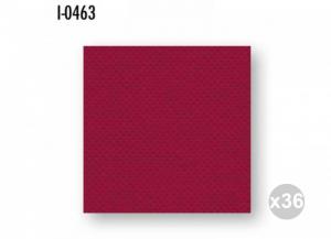 Set 36x40 (1440 pz totali) CELTEX Tovaglioli 38x38 carta 2 veli bordeaux tramato/incollato