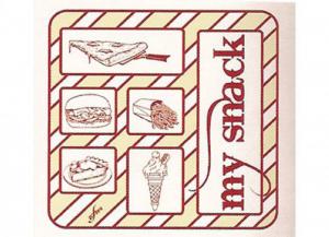 '1000 pezzi CELTEX Buste prendi ''my snack'' 16x16 politenato Cucina: stoviglie e accessori'