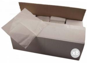 Set 8x2000 (16000 pz totali) CELTEX Tovaglioli 17x17 carta 1 velo tissue ovatta Cucina: stoviglie e accessori