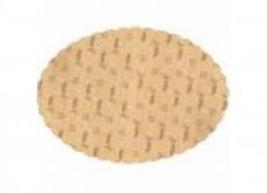 250 pezzi CELTEX Sottofritto ovale paglia alimentare 19x31 Casa e cucina
