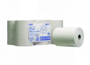 6 pezzi KIMBERLY-CLARK Asciugamani rotolo airflex slimroll bianco 1 v. Bagno: accessori e tessuti