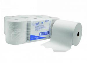 6 pezzi KIMBERLY-CLARK Asciugamani rotolo airflex bianco 304 1 velo Bagno: accessori e tessuti
