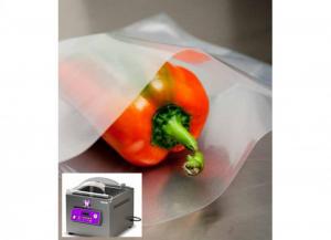 100 pezzi BESSER VACUUM Buste per sottovuoto lisce a/90 per alimenti 20x30 Soluzioni salvaspazio
