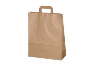 '200 pezzi FLAT BAG Borse shoppers ''eco'' carta 31x18x47 Soluzioni salvaspazio'