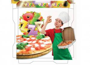 100 pezzi CODECART Box pizza semichimico pesante 40x40x3,5 Cucina: stoviglie e accessori