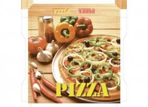 50 pezzi CODECART Box pizza semichimico pesante 50x50x5 Cucina: stoviglie e accessori