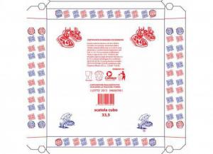 100 pezzi CODECART Cubi pizza vegetale 35,5x35,5 Cucina: stoviglie e accessori